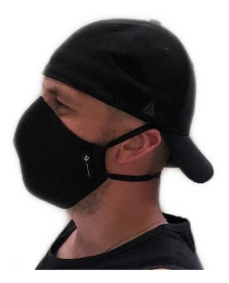 Mascara Reutilizável Em Tecido Lavável De Dupla Camada
