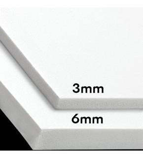 Sintra Pvc Plancha 3mm Rotulación Acrilico Material 1.2x2.4m