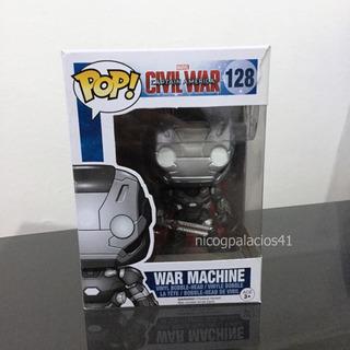 Funko Pop War Machine #128 Capitán America Civil War