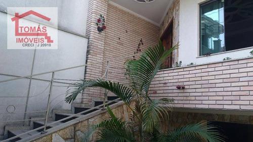 Sobrado Residencial À Venda, Chácara Inglesa, São Paulo. - So1433