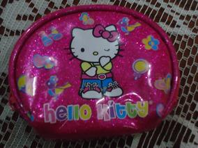 Bolsa Monedero De Hello Kitty By Sanrio Rosada