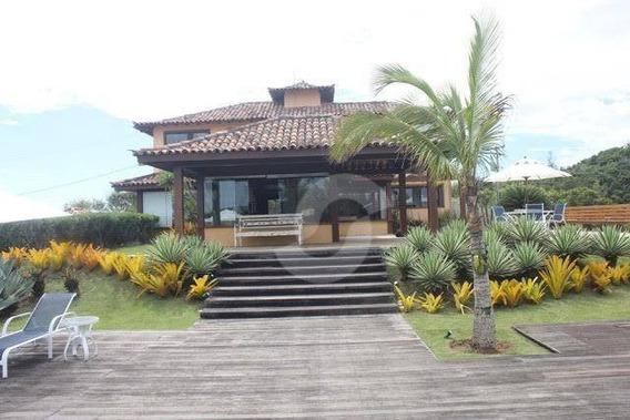 Casa Residencial À Venda, Ferradura, Armação Dos Búzios. - Ca1064