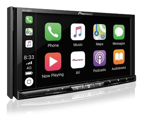 Central Multimidia Dvd Pioneer Avh - Z 9180 Tv 7 Polegadas