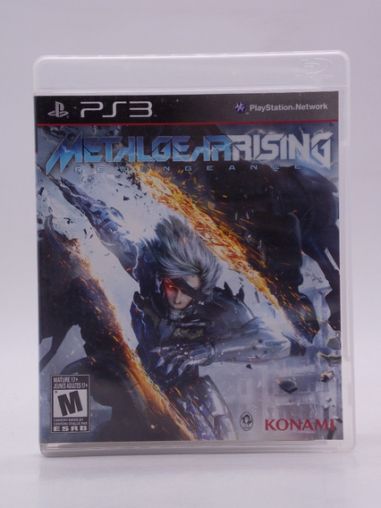 Metal Gear Rising Play Station 3 Original Mídia Física