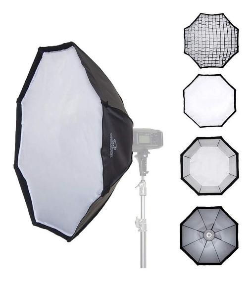 Octo Light Soft 95cm Com Anel Para Flash Padrão Bowens