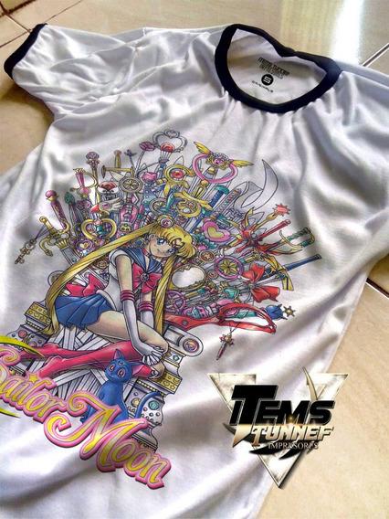 Playera Sailor Moon Anime Mayoreo Personalizadas A1