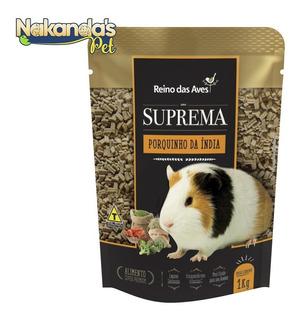 Kit 2 Suprema Porquinho Da Índia 1kg + 1 Mix Sticks 100g
