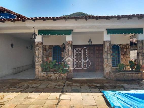 Casa Com 3 Dormitórios À Venda, 360 M² Por R$ 300.000,00 - Piratininga - Niterói/rj - Ca1276