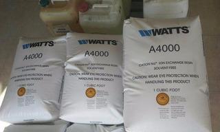 Resina Cationica Watts De Importacion Para Suavizador