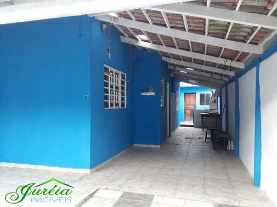 Casa No Jardim Das Flores Com 2 Quartos. Peruíbe/sp