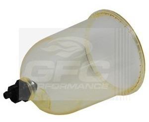 Vaso Transparente Gfc Fsk1938 Filtros Turbinas 1000fg 900fg