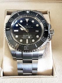 Relogio Sea Dweller Novo Modelo Deep Blue Sea Em 12x S/juros