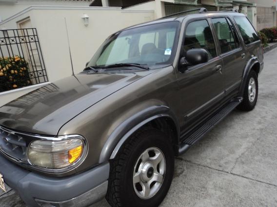 Ford Explorer 2001 Optimo Estado, Toda Prueba, Cero Choques