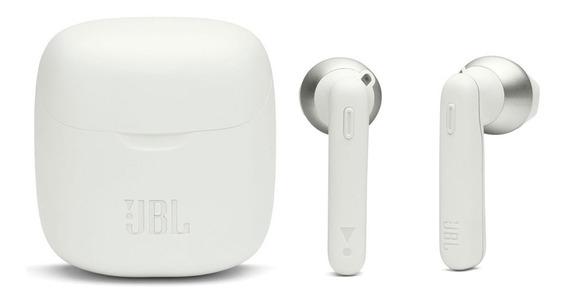 Fone Branco Tune 220tws Bluetooth Bateria De Íon Lítio