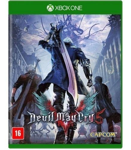 Jogo Xbox One Devil May Cry 5 - Novo - Lacrado
