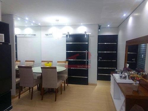 Apartamento Com 3 Dormitórios À Venda, 78 M² Por R$ 410.000,00 - Jardins De Bragança - Bragança Paulista/sp - Ap0140