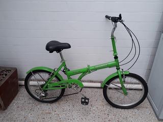 Bicicleta Plegable Mieli Rodado 20