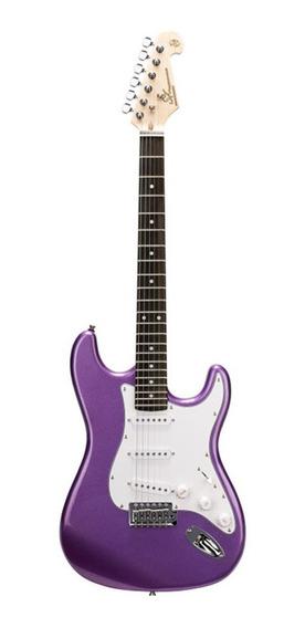 Guitarra Electrica Sx Strato Fed 1 Metallic Purple