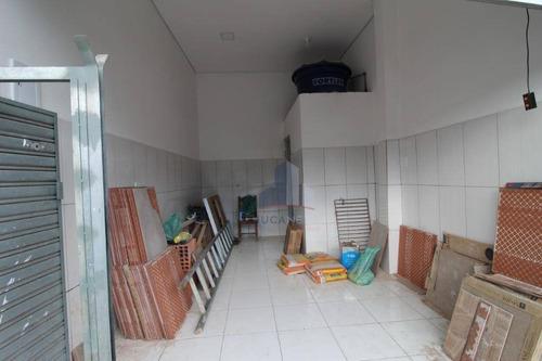 Salão Para Alugar, 40 M² Por R$ 800/mês - Jardim Canadá - Mauá/sp - Sl0148