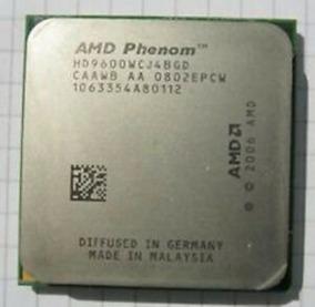 Processador Amd Phenom X4 9600 + 2g Ddr2 800mhz