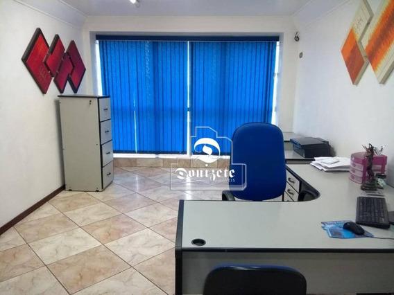 Sala À Venda, 43 M² Por R$ 270.000,00 - Centro - Santo André/sp - Sa0923