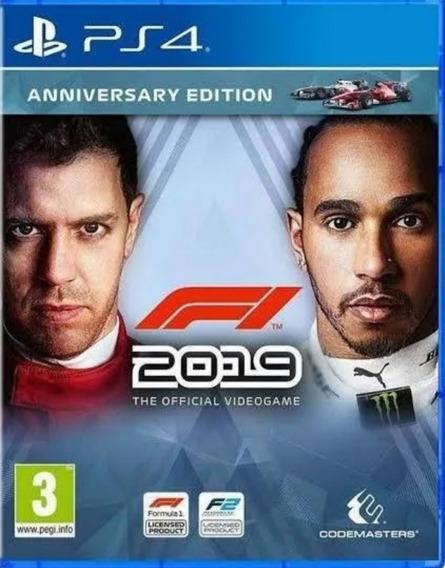 F1 2019 Ps4 Original Digital² - Jogo Permanente