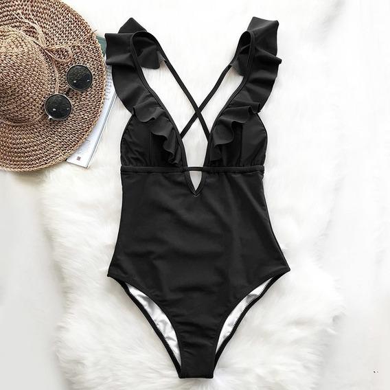 570d594b101c Bikini Enterizo Negro - Ropa y Accesorios en Mercado Libre Perú