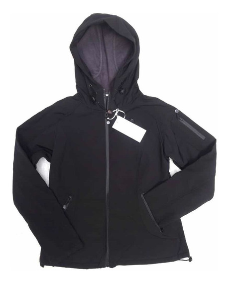 Campera Soft Shell Explora Neoprene Impermeable Mujer