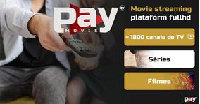 Combo Premium 4 Telas Pay Movie Tv + 1800 Canais Liberados