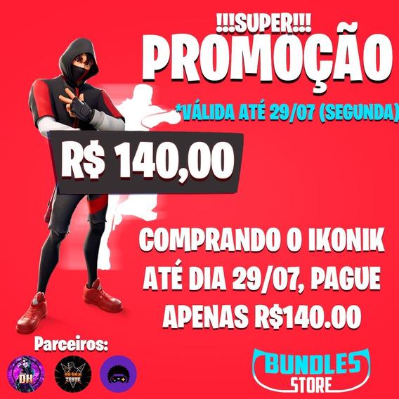 Promoção Fortnite Ikonik+scenario,xbox,ps4,pc,nitendo,mobile