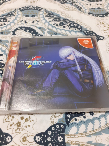 The King Of Fighters 2001 Dreamcast C/ Spine Card