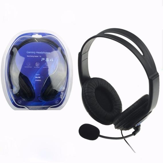 Audífonos Para Ps4 Gaming Con Micrófono For Ps4 Headphones