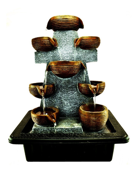Fuente De Agua Deco Moderno Feng Shui Relajacion Zen Interior Exterior 306.1172029l