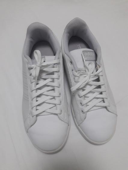 Tênis adidas Cloudfoam Branco Masculino