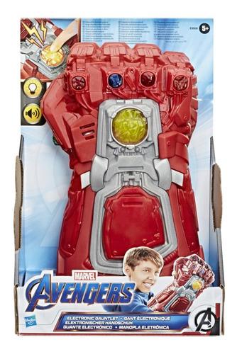 Avengers Nova Manopla Homem De Ferro Eletrônica Hasbro