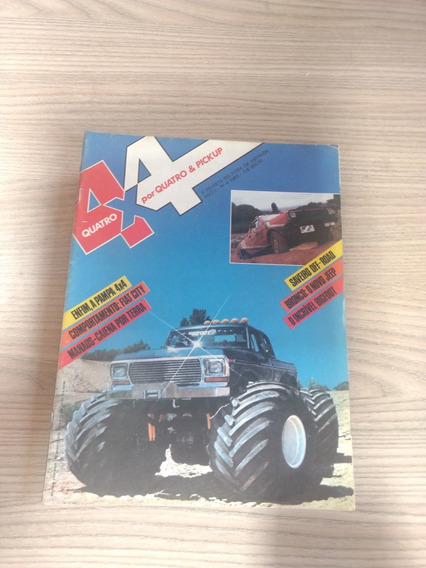 Revista 4x4 04 Big Foot Saveiro Pampa Jeep Trilhas 891