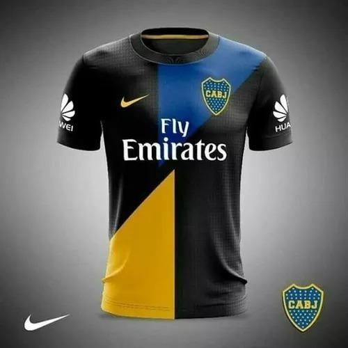 10425b92dc Camisa Boca Juniors Azul 2018/2019 Nova Personalizada - R$ 56,00 em ...