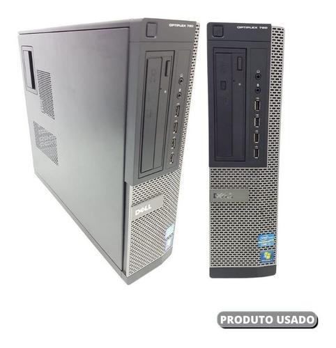 Imagem 1 de 9 de Pc Dell Core I3 Ram 8gb Ssd 120gb O Menor Preço