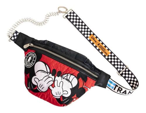 Riñonera Race Minnie & Mickey
