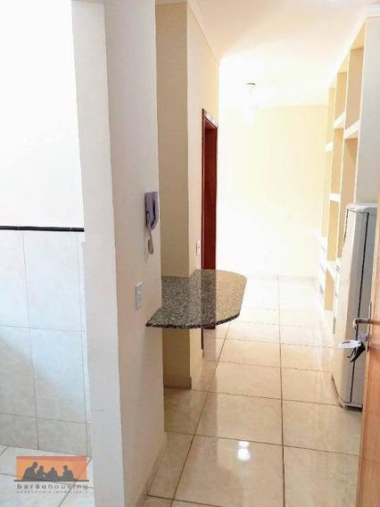Kitnet Com 1 Dormitório Para Alugar, 22 M² Por R$ 1.100,00/mês - Cidade Universitária - Campinas/sp - Kn0472