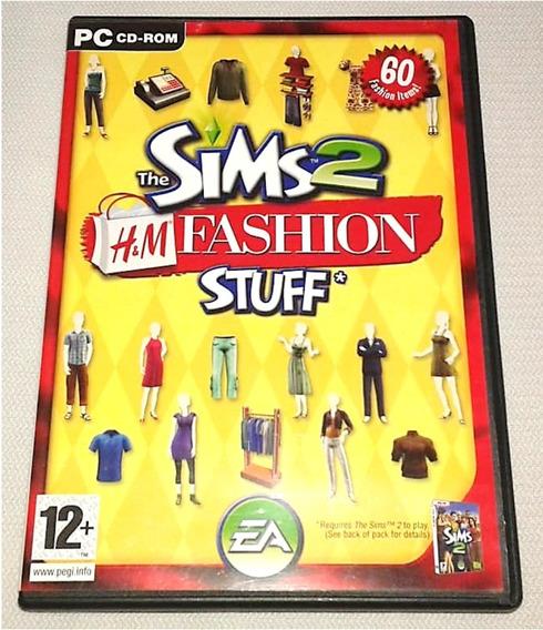 The Sims 2 H&m Fashion - Pacote Expansão Extensão Pc Cd Rom