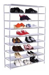 Zapatera 9 Niveles Estructura Metálica Organización Zapatos