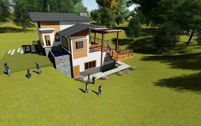 Excelente Villa En Exclusivo Proyecto En Jarabacoa Rmv-139