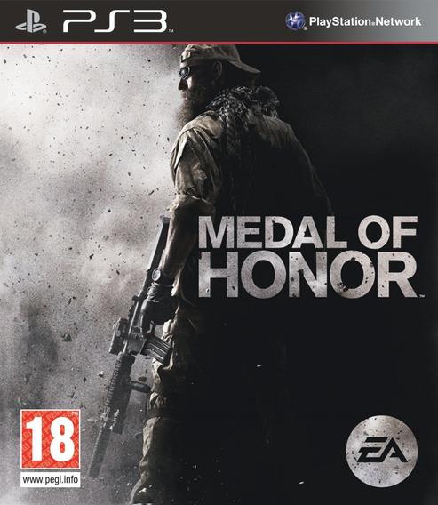 Jogo Medal Of Honor + Moh Frontline Ps3 Midia Fisica 2 Jogos