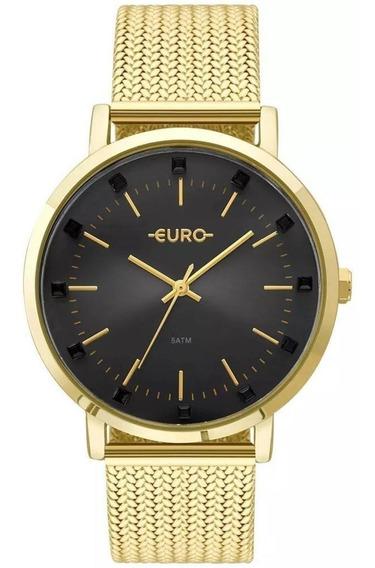 Relógio Euro Feminino Spike Illusion Eu2035ymx/4p Promoção