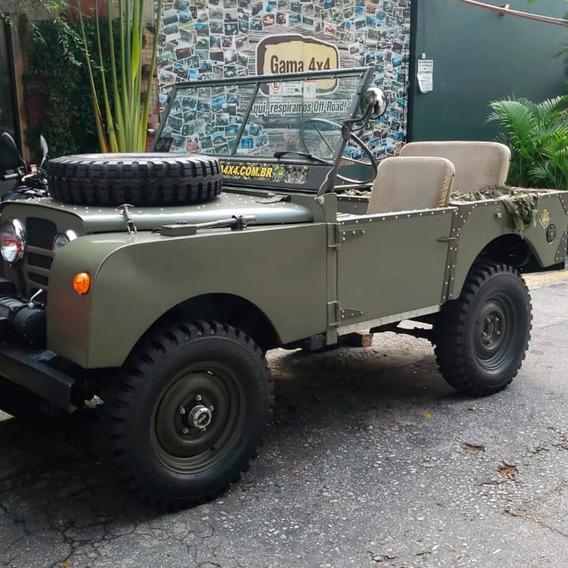 Land Rover Serie 1 Placas Preta - Gasolina (1951)