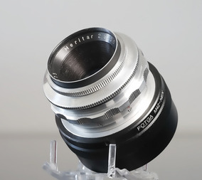 Lente 50mm F2.9 Ludwig Meritar + Adaptador Sony E-mount\nex