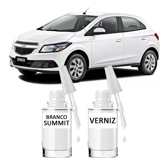 Tinta Tira Risco Automotiva Gm Branco Summit 15ml