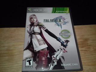 Final Fantasy Xiii- Xbox 360- Entrega Inmediata *