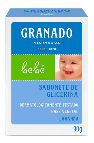 Sabonete Granado Glicerina Lavanda Bebe 90g